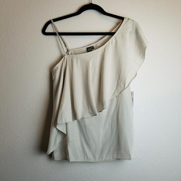 Volcom Tops - Volcom Stone Row Hangin Ruff one shoulder top Med